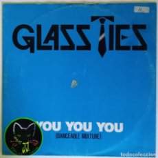 Discos de vinilo: GLASS TIES - YOU YOU YOU / VIEWS. 1983 EMI ELECTRONIC NEW WAVE UK 12''. Lote 206351865