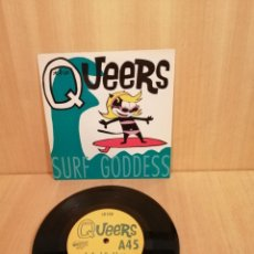 Disques de vinyle: THE QUEERS. SURF GODDES. EP.. Lote 206352225