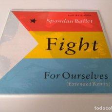Discos de vinilo: SPANDAU BALLET - FIGHT FOR OURSELVES. Lote 206352551