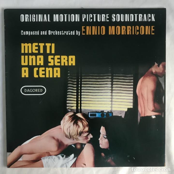 ENNIO MORRICONE  METTI UNA SERA A CENA (Música - Discos - LP Vinilo - Bandas Sonoras y Música de Actores )