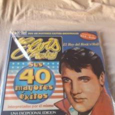 Discos de vinilo: ELVIS PRESLEY SUS 40 MAYORES EXITOS. Lote 206353798