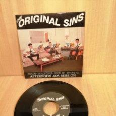 Discos de vinilo: THE ORIGINAL SINS. AFTERNOON JAM SESSION. EP.. Lote 206355432
