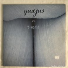 Discos de vinilo: GUSGUS VS. T-WORLD 2LPS UK 2000. Lote 206357421