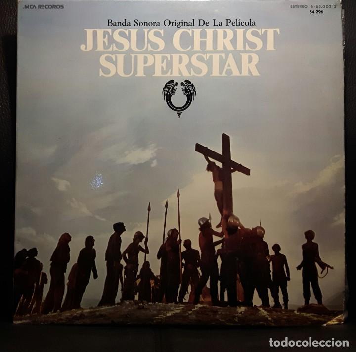 JESUS CHRIST SUPERSTAR - DOBLE LP - ESPAÑA - 1974 - ANDREW LLOYD WEBBER - CON ENCARTE Y LIBRETO (Música - Discos - LP Vinilo - Bandas Sonoras y Música de Actores )