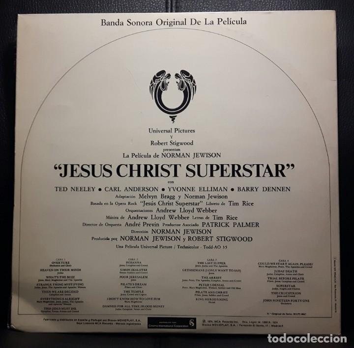 Discos de vinilo: JESUS CHRIST SUPERSTAR - DOBLE LP - ESPAÑA - 1974 - ANDREW LLOYD WEBBER - CON ENCARTE Y LIBRETO - Foto 2 - 206357425
