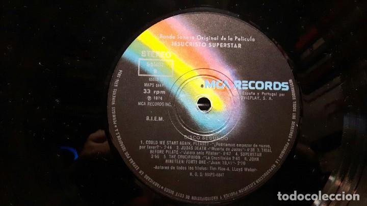 Discos de vinilo: JESUS CHRIST SUPERSTAR - DOBLE LP - ESPAÑA - 1974 - ANDREW LLOYD WEBBER - CON ENCARTE Y LIBRETO - Foto 14 - 206357425