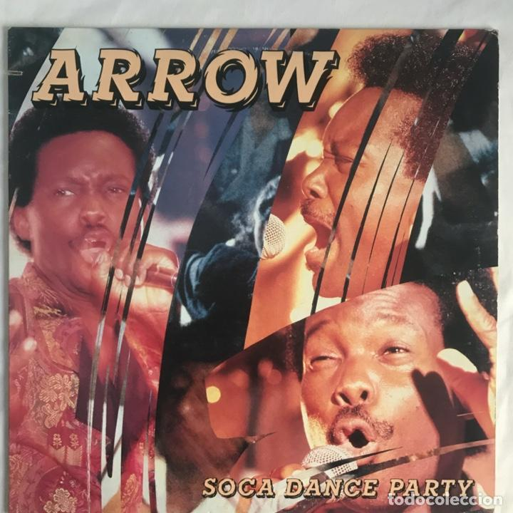 ARROW SOCA DANCE PARTY CALYPSO 1990 US (Música - Discos - LP Vinilo - Reggae - Ska)