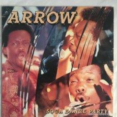 Discos de vinilo: ARROW SOCA DANCE PARTY CALYPSO 1990 US. Lote 206358771