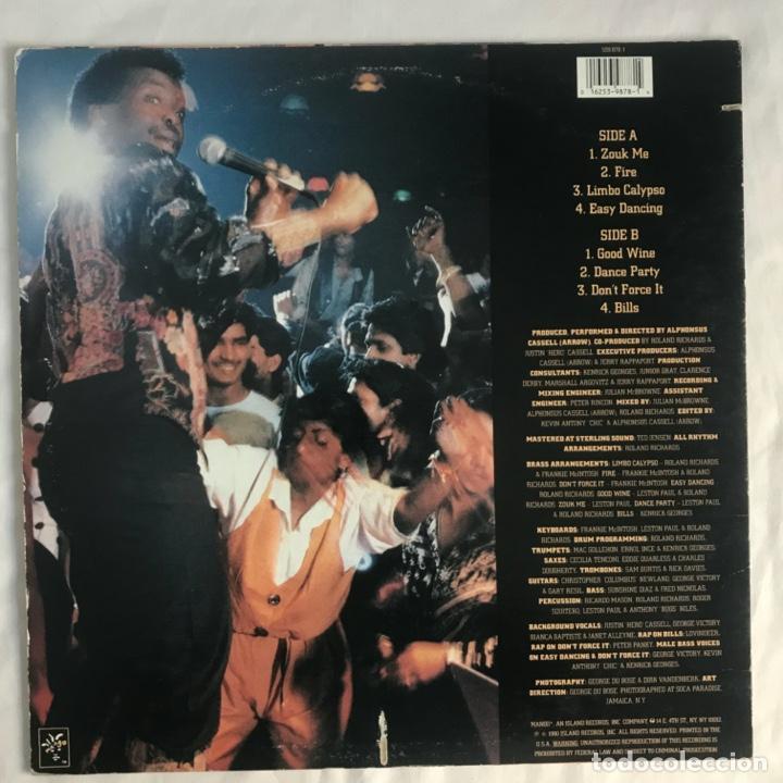 Discos de vinilo: Arrow Soca Dance Party CALYPSO 1990 US - Foto 2 - 206358771