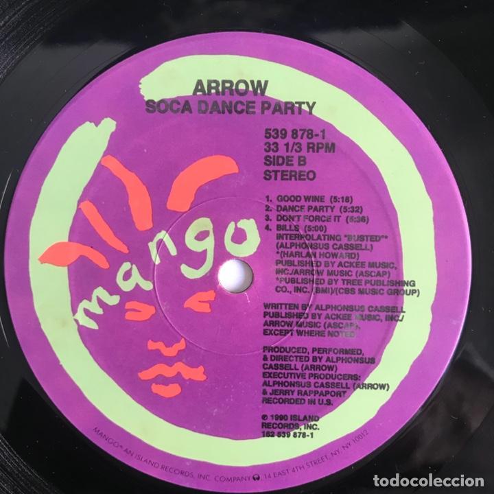 Discos de vinilo: Arrow Soca Dance Party CALYPSO 1990 US - Foto 3 - 206358771
