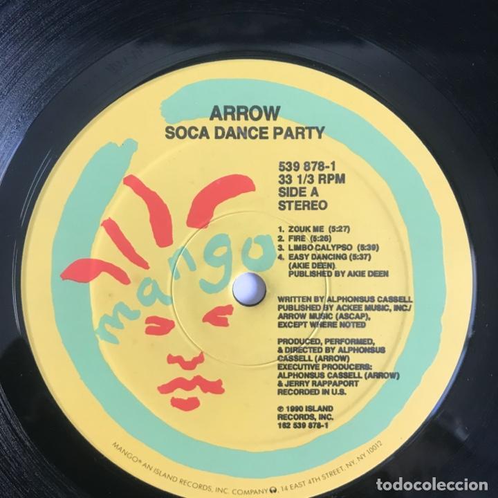 Discos de vinilo: Arrow Soca Dance Party CALYPSO 1990 US - Foto 4 - 206358771