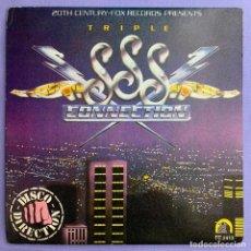 Discos de vinilo: SINGLE TRIPLE S CONNECTION VG++. Lote 206359992