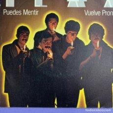 Discos de vinilo: SINGLE FLAX PUEDES MENTIR - VUELVE PRONTO VG++. Lote 221681607