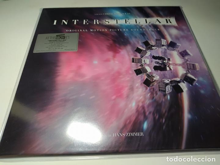 LP - HANS ZIMMER – INTERSTELLAR (B.S.O) - MOVATM023 - 2LP - E. LIMITADA DE LUJO - 180GR (Música - Discos - LP Vinilo - Bandas Sonoras y Música de Actores )