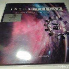 Discos de vinilo: LP - HANS ZIMMER – INTERSTELLAR (B.S.O) - MOVATM023 - 2LP - E. LIMITADA DE LUJO - 180GR. Lote 206365621