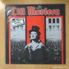 Discos de vinilo: VARIOS - UNA CANCION ... LILI MARLEEN - LP. Lote 206366161