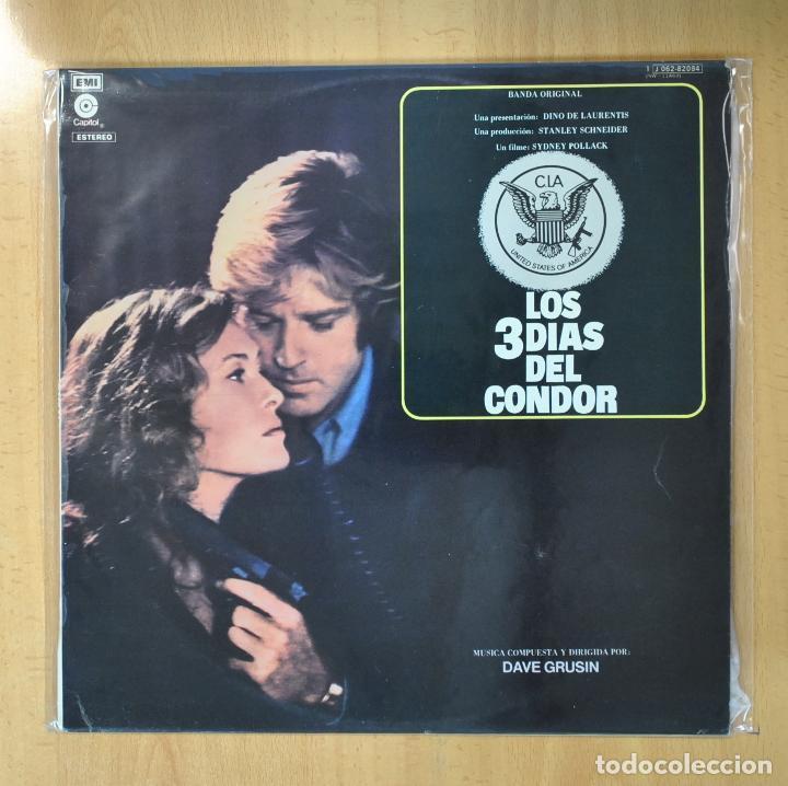DAVE GRUSIN - LOS 3 DIAS DEL CONDOR - LP (Música - Discos - LP Vinilo - Bandas Sonoras y Música de Actores )