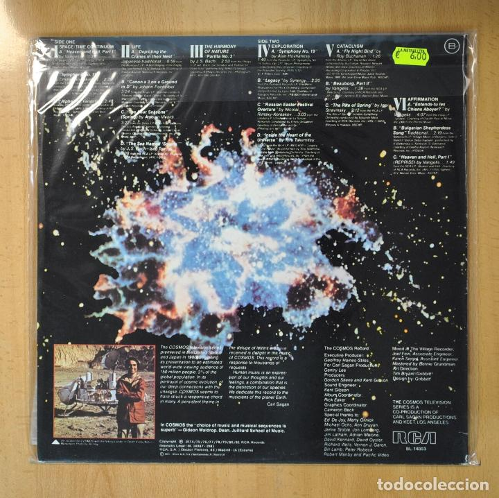 Discos de vinilo: VARIOS - THE MUSIC OF COSMOS - GATEFOLD - LP - Foto 2 - 206366267