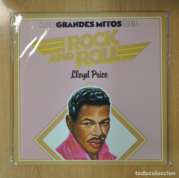 LLOYD PRICE - LOS GRANDES DEL ROCK AND ROLL - LP (Música - Discos - LP Vinilo - Rock & Roll)