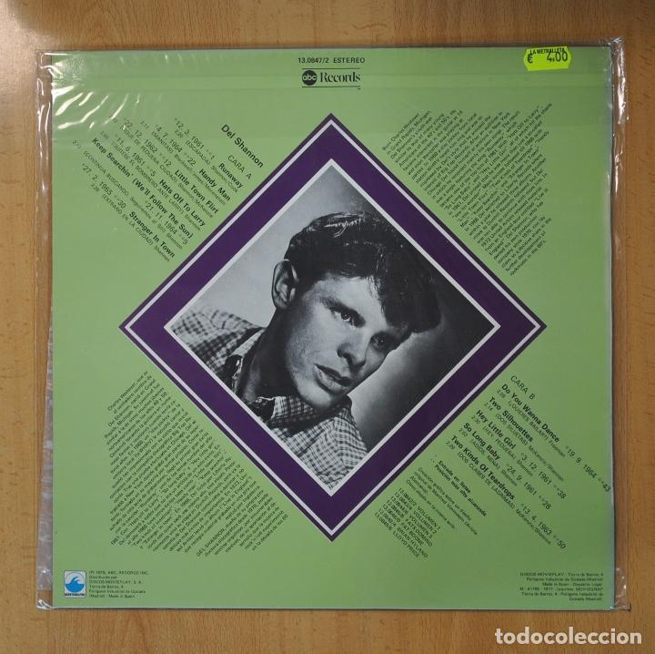 Discos de vinilo: DEL SHANNON - LOS GRANDES DEL ROCK AND ROLL - LP - Foto 2 - 206366940