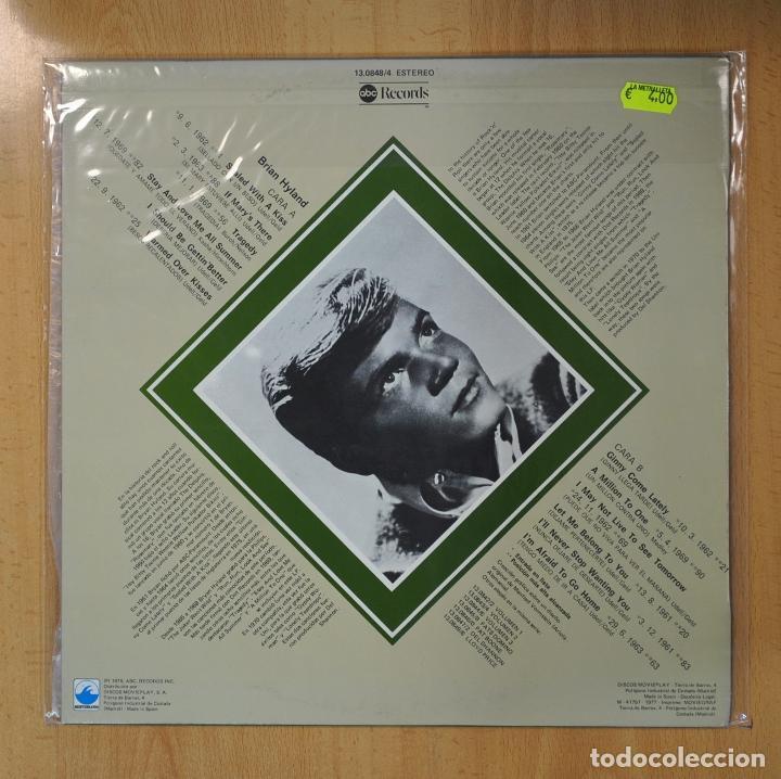 Discos de vinilo: BRIAN HYLAND - LOS GRANDES DEL ROCK AND ROLL - LP - Foto 2 - 206366947