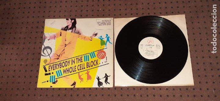 EVERYBODY IN THE WHOLE CELL BLOCK ¡ - VARIOS ARTISTAS - SPAIN - REGULAR RECORDS - REF HYB LP 4 - L (Música - Discos - LP Vinilo - Rock & Roll)