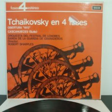 Discos de vinilo: TCHAIKOVSKY EN 4 FASES. OBERTURA 1812. CASCANUECES SUITE. DECCA. PFS 4044.. Lote 206382531