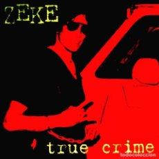 Discos de vinilo: LP ZEKE TRUE CRIME VINILO PUNK ROCK. Lote 206382571