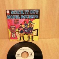Discos de vinilo: MODEL ROCKETS. STICK IT OUT.. Lote 206384978