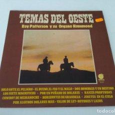 Discos de vinilo: RAY PATTERSON Y SU ÓRGANO HAMMOND - TEMAS DE LOESTE. Lote 206385596