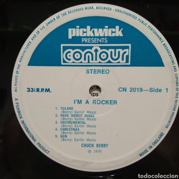 Discos de vinilo: Chuck Berry - Im A Rocker 1975 ( 1970 ) Ed UK - Foto 3 - 206385748
