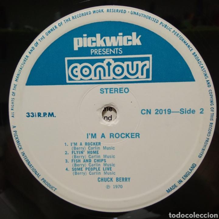 Discos de vinilo: Chuck Berry - Im A Rocker 1975 ( 1970 ) Ed UK - Foto 4 - 206385748