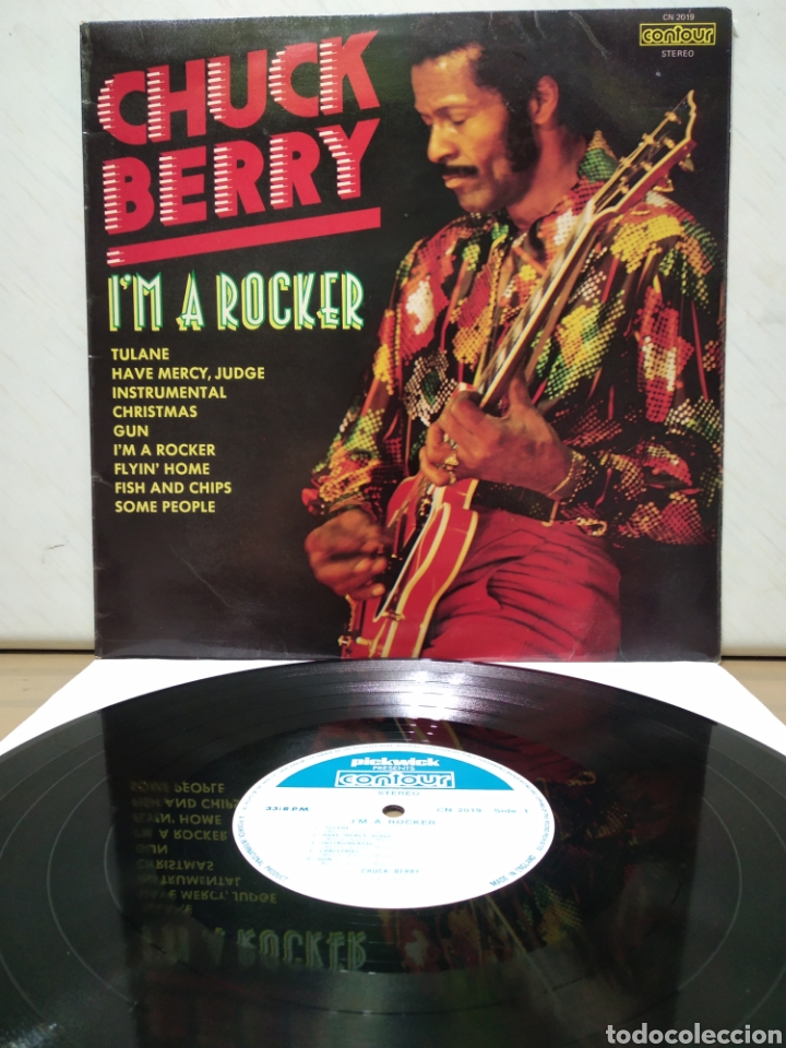 CHUCK BERRY - I'M A ROCKER 1975 ( 1970 ) ED UK (Música - Discos - LP Vinilo - Rock & Roll)