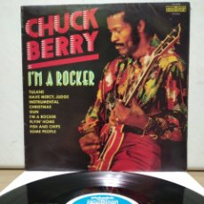 Discos de vinilo: CHUCK BERRY - I'M A ROCKER 1975 ( 1970 ) ED UK. Lote 206385748