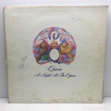 Discos de vinilo: LP - DISCO - VINILO - QUEEN - A NIGHT AT THE OPERA - AÑO 1976. Lote 206385987
