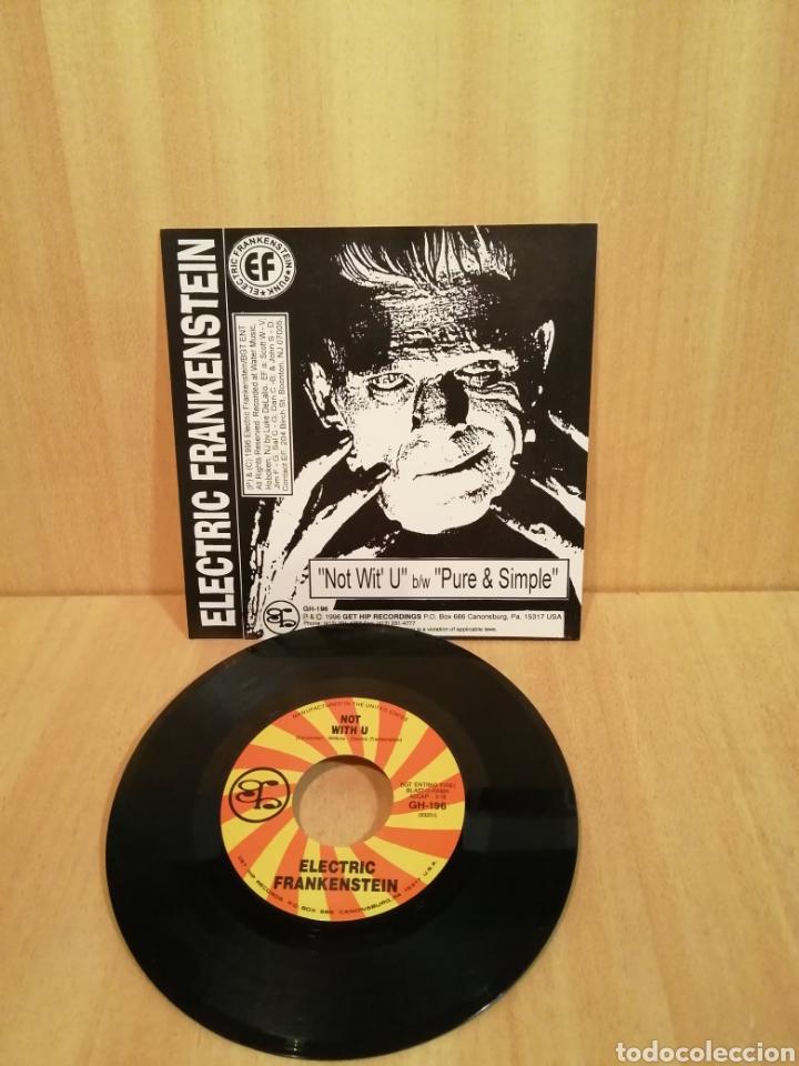 Discos de vinilo: Electric Frankenstein. Not wit u. Pure & Simple. - Foto 2 - 206386376