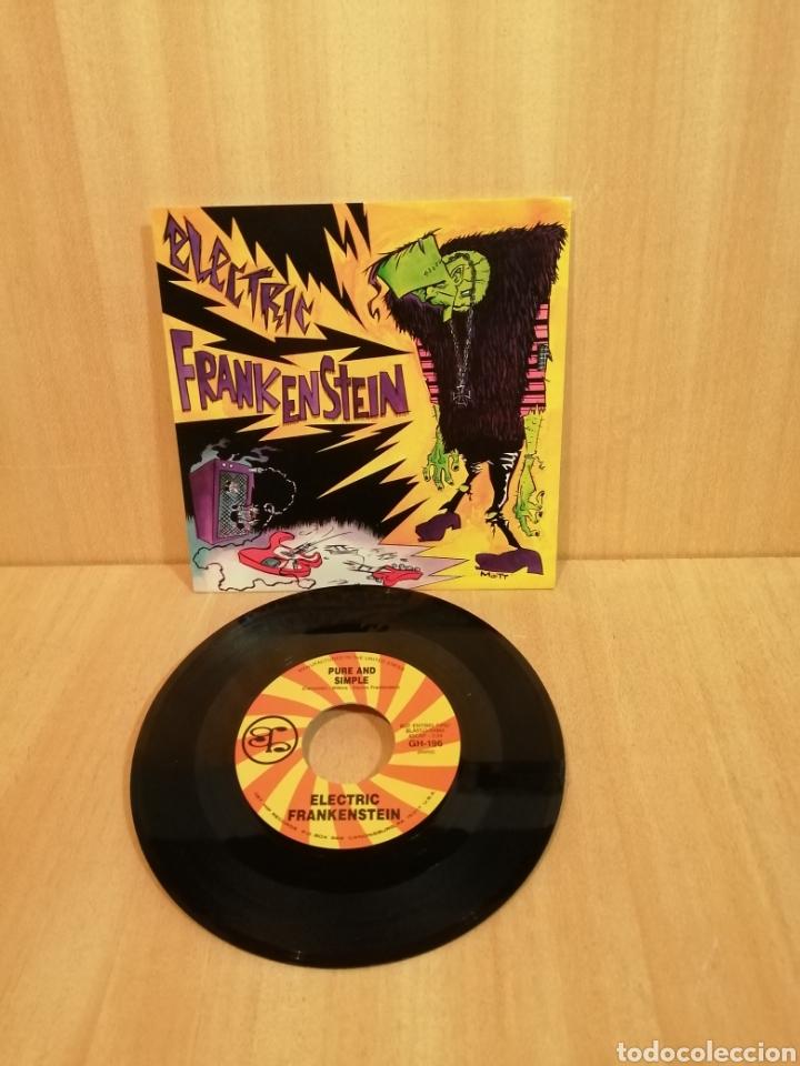 ELECTRIC FRANKENSTEIN. NOT WIT' U. PURE & SIMPLE. (Música - Discos - Singles Vinilo - Punk - Hard Core)