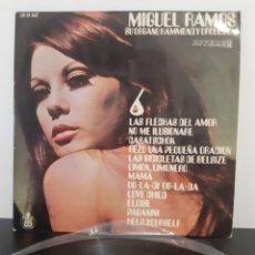 Discos de vinilo: MIGUEL RAMOS, SU ORGANO HAMMOND Y SU ORQUESTA. 1969. ESPAÑA.. Lote 206386756