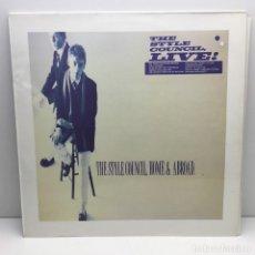 Discos de vinilo: LP - DISCO - VINILO - THE STYLE COUNCIL - HOME & ABROAD - AÑO 1986. Lote 206387126