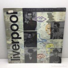 Discos de vinilo: LP - DISCO - VINILO - FRANKIE GOES TO HOLLYWOOD - LIVERVPOOL - AÑO 1986 - CON PLÁSTICO ORIGINAL. Lote 206387482
