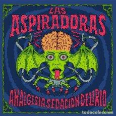 Discos de vinilo: LP LAS ASPIRADORAS ANALGESIA SEDACION DELIRIO GARAGE VINILO. Lote 206387553