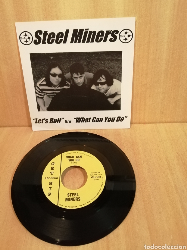 STEEL MINERS. LET'S ROLL. WHAT CAN YOU DO. (Música - Discos - Singles Vinilo - Punk - Hard Core)