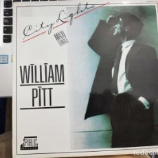 "Discos de vinilo: WILLIAM PITT - CITY LIGHTS (12"") 1987.SELLO:ZAFIRO CAT. Nº: OOS - 919. COMO NUEVO. Lote 206392567"