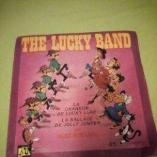 Discos de vinilo: THE LUCKY BAND – LA CHANSON DE LUCKY LUKE,1984. Lote 206394443