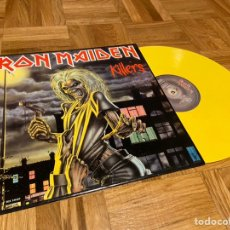 Discos de vinilo: IRON MAIDEN KILLERS DISCO VINILO COLOR LO. Lote 206395025