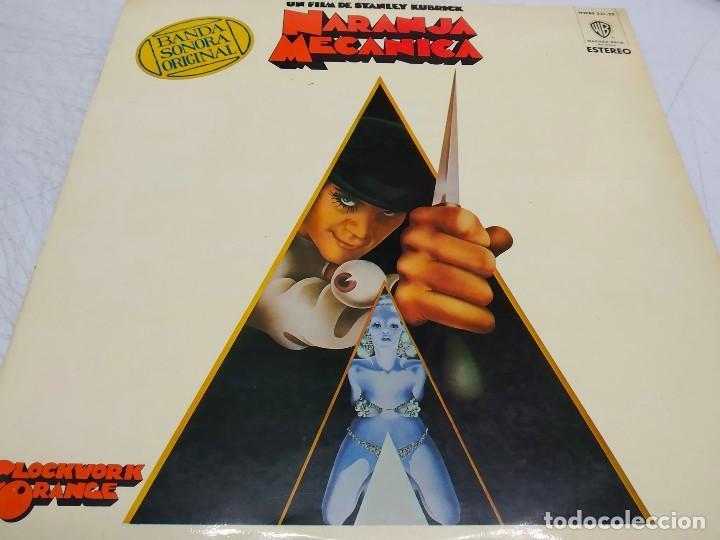 NARANJA MECANICA = CLOCKWORK ORANGE--EDICION ESPAÑOLA 1979 BSO (Música - Discos - LP Vinilo - Bandas Sonoras y Música de Actores )