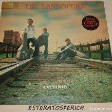 Discos de vinilo: THE SANDPIPERS - OVERDUE - ZAFIRO 1978. Lote 206397035