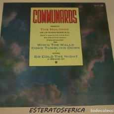 Discos de vinilo: COMMUNARDS - THE MULTIMIX . MAXI SINGLE . 1987 LONDON RECORDS - 886 112-1. Lote 206397158