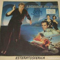 Discos de vinilo: LICENCE TO KILL - BSO - MCA RECORDS 1989 FRANCE. Lote 206397756