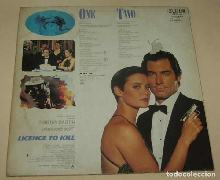 Discos de vinilo: LICENCE TO KILL - BSO - MCA RECORDS 1989 FRANCE - Foto 2 - 206397756